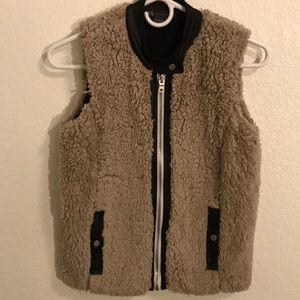 Armani Exchange reversible vest